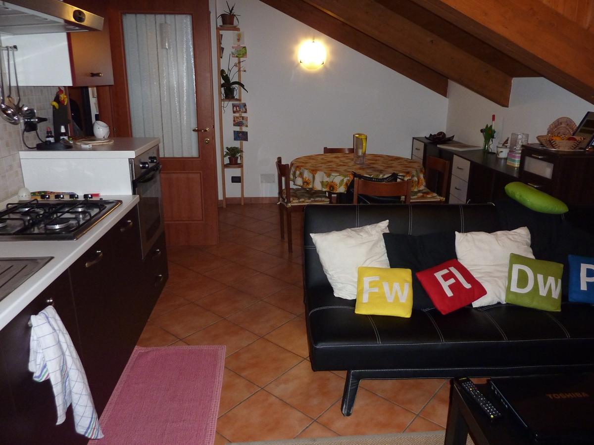 Appartamento mansardato in affitto a torino zona parella for Affitto collegno arredato